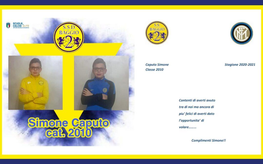 Congratulazioni a Simone Caputo!
