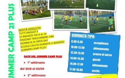 Baggio2 Summer Camp 21 PLUS