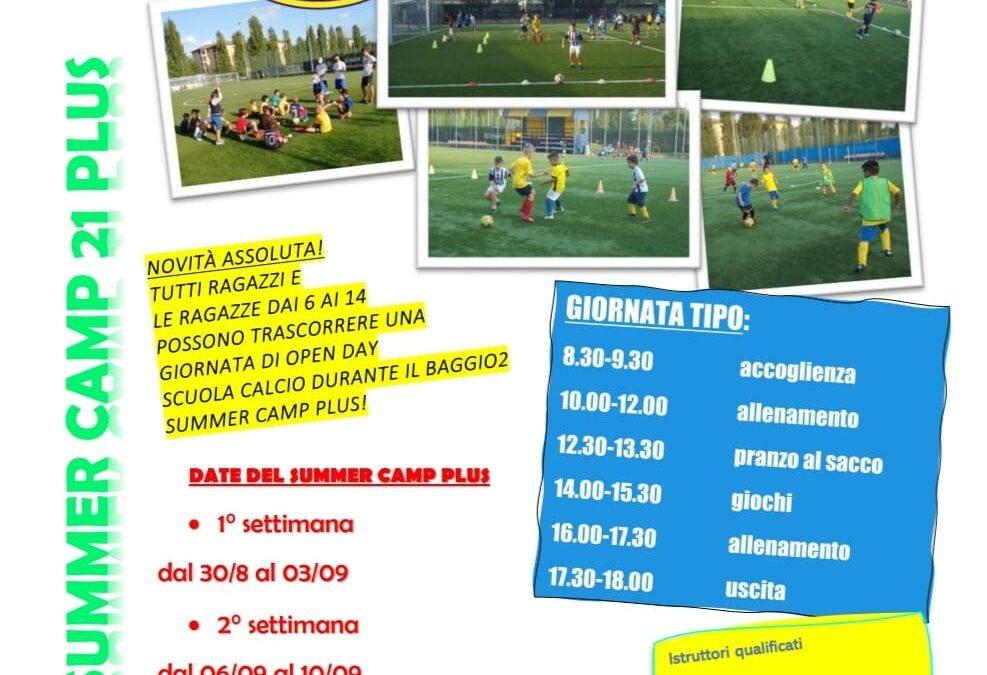 Baggio2 Summer Camp PLUS