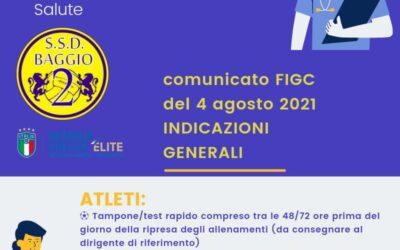Nuove disposizioni FIGC